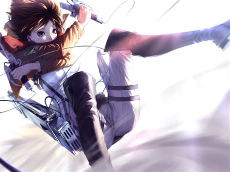 wallpaper keren attack on titan shingeki no kyojin full hd wallpaper and background image
