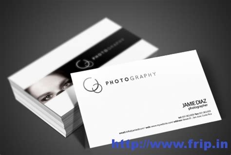 Best Photography Business Cards