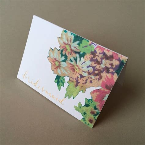 decoupage greeting cards decoupage modern calligraphy handmade greeting card by