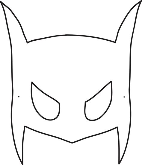 diy batman mask template easy diy mask tutorial