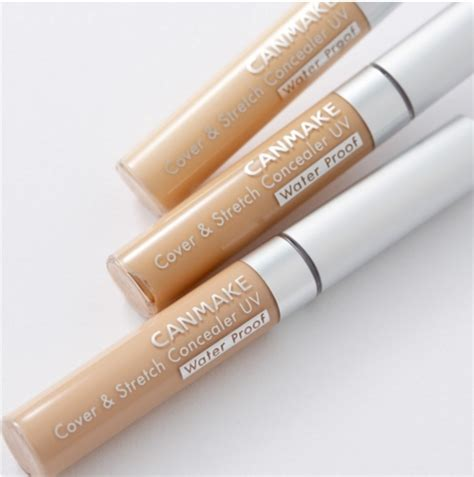 Canmake Cover Stretch Concealer Uv 01 Light Beige canmake concealer cover stretch concealer uv spf25 pa waterproof japan f s ebay