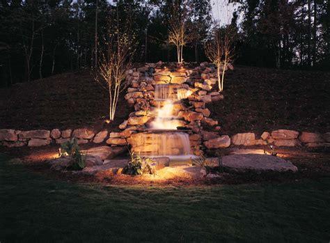 Waterfall Lighting Outdoor Lighting Perspectives Of Waterfall Lights