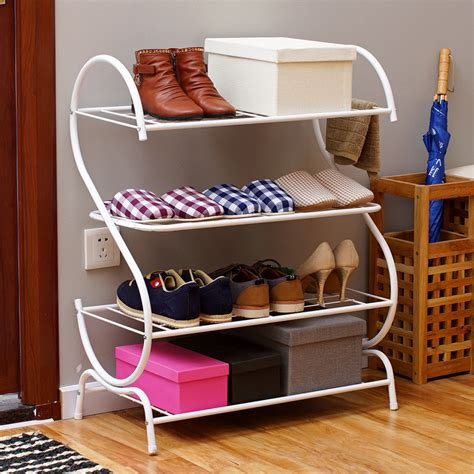 living room shoe storage simple shoe rack assembled household budget modern living