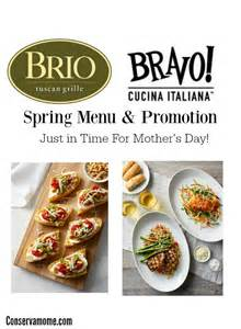 brio kids menu brio tuscan grille and bravo cucina italiana spring menu