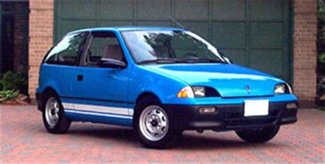 1992 geo metro electric car