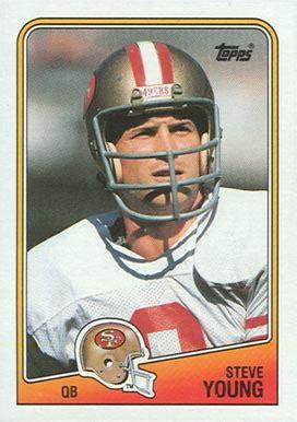football cards value 1988 topps steve 39 football card value price guide