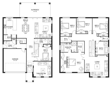 floor plan for two storey house in the philippines outstanding 1000 images about 2 story on pinterest two storey house plans double storey floor