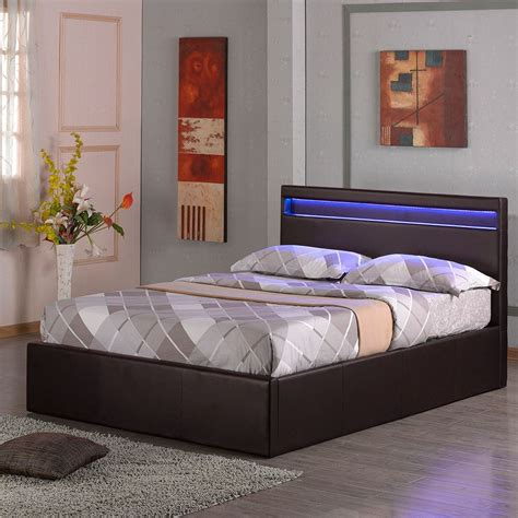 diy ottoman storage bed tokyo led light ottoman storage gas lift base double