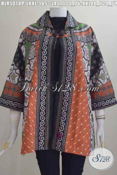 desain baju batik yang modis pakaian batik istimewa motif klasik buat wanita kantoran