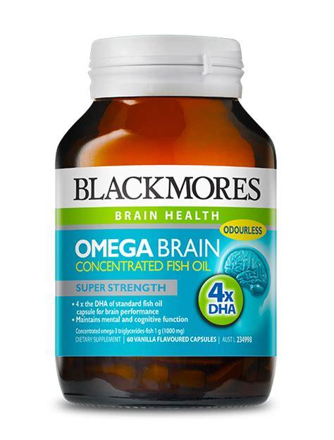 Black Mores Omega Brain omega brain blackmores