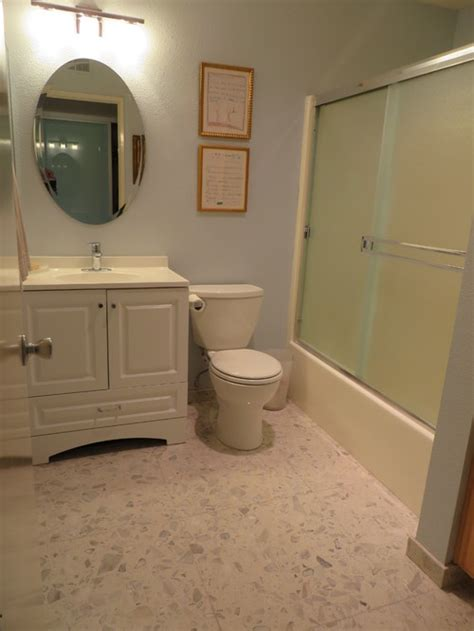 redoing a small bathroom budget redo of a small bathroom