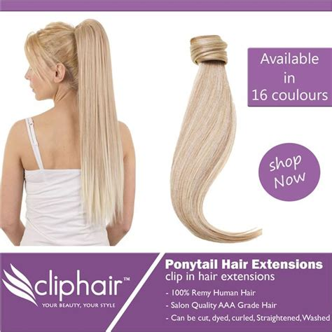 ponytail clip in remy human hair extensions ebay gallery human hair ponytail extensions black hairstle