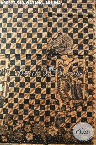 Kain Wayang kain batik tulis premium motif wayang arjuna batik
