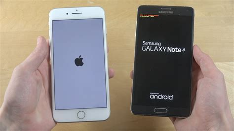 Samsung Iphone 7 iphone 7 plus vs samsung galaxy note 4 android 7 1 rom which is faster tech and