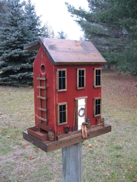 barn shaped houses gorgeous handmade bird feeders