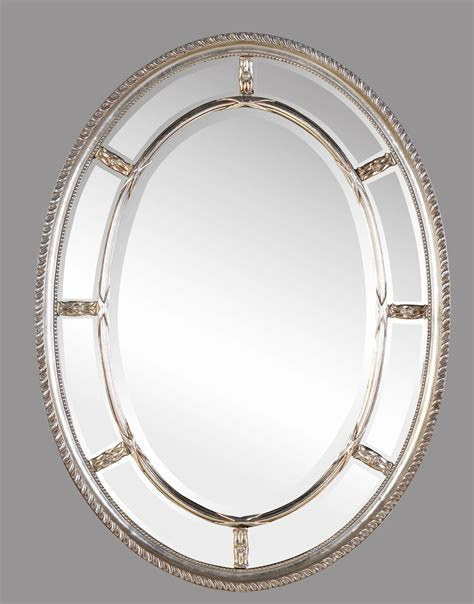 bathroom oval mirrors add and elegance to your