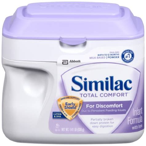 Similac Total Comfort Protein Powder 4 Count Deliver Serber