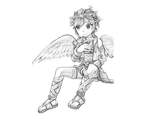 kid icarus dark pit angel mario