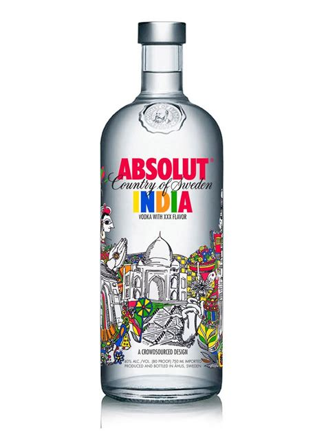 Iphone Absolut Vodka absolut vodka bottle limited india edition cover design