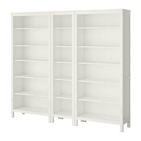 hemnes bookcase white stain ikea
