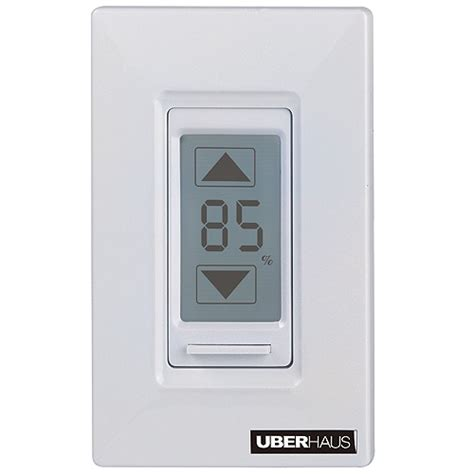 touch l dimmer digital touch screen dimmer rona