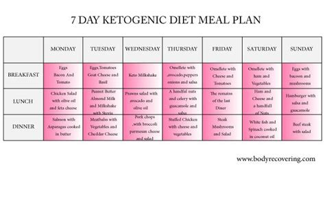 Keto Detox Plan by 25 Best Ideas About Ketogenic Diet Meal Plan On