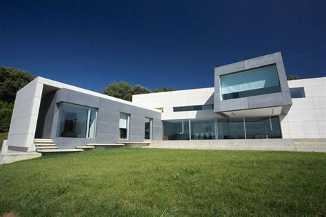 modern looking homes contemporary style concrete house santander house by a