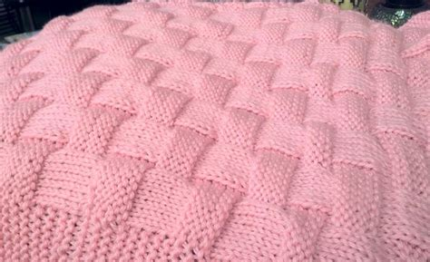 knitted basket weave afghan pattern realistic basket weave pattern knit by 4renee3327922