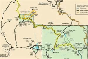Custer State Park Map by Custer State Park Map Images