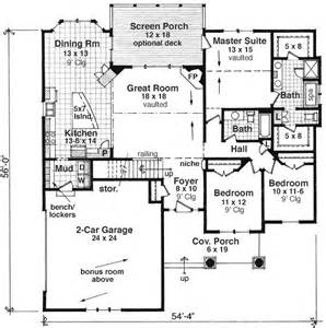 house plans craftsman style bungalow ranch home single story homes