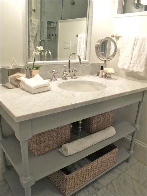 open bathroom vanity gray bathroom vanity cottage bathroom everyday occasions