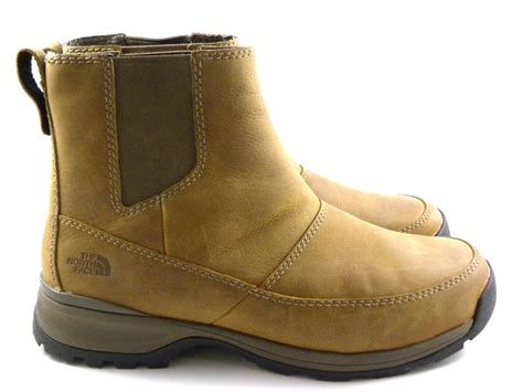 mens winter slip on boots the ketchum mid brown leather slip on winter