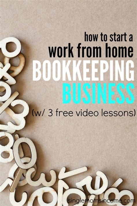 how to start an bookkeeping business single