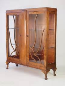 art deco china cabinet for sale art deco oak china cabinet or bookcase antiques atlas