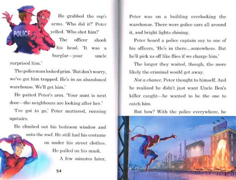 Origin A Novel index of comics images marvel books origin story spiderman v2