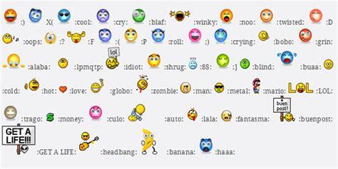 como hacer caritas en facebook taringa emoticones de mil trucos blogger para tu blog mil trucos