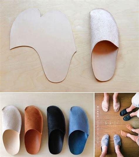 How To Make Handmade Slippers - simple diy slippers for home