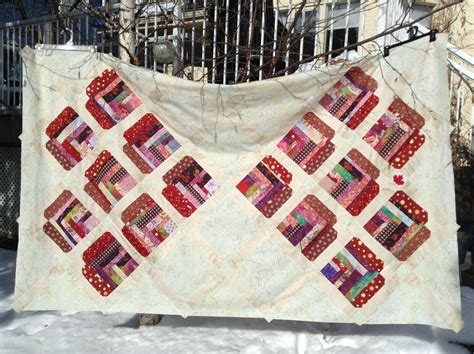 Improvised Heart Quilt Construction Tutorial   FaveQuilts.com