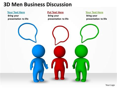 ppt templates for group discussion 3d men business discussion ppt graphics icons ppt images