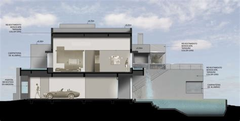 architecture house design concept the waterfall house design by andres remy