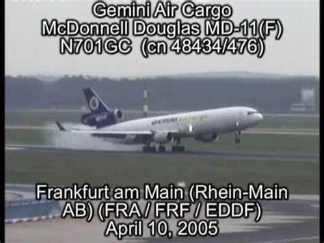 gemini air cargo mcdonnell douglas md 11 f n701gc cn 48434 476