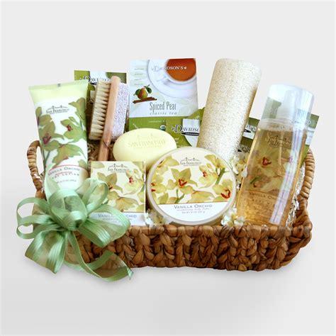 spa gifts orchid spa sensation gift basket world market