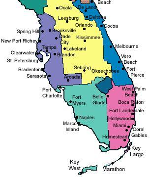 southwest florida cities map deboomfotografie
