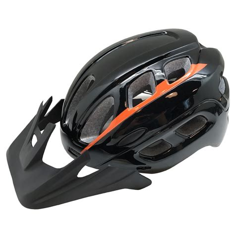 comfortable mountain bike comfortable safetest mountain bicycle helmet with visor