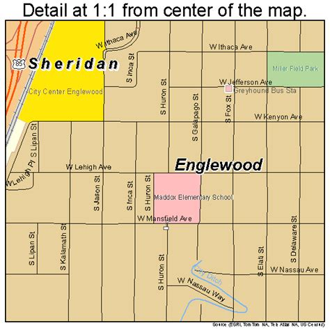 englewood chicago map englewood colorado map 0824785