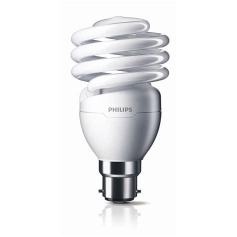 Philips 24w Cool Day Bayonet Clip Cfl T2 Spiral Tornado Globe Light Bulbs For Sale