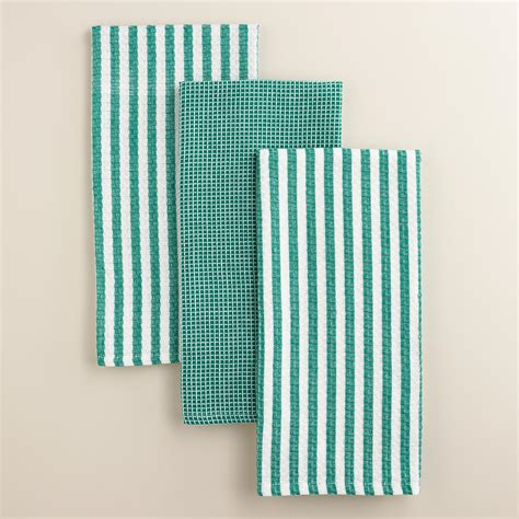 Waffle Weave Kitchen Towels by X