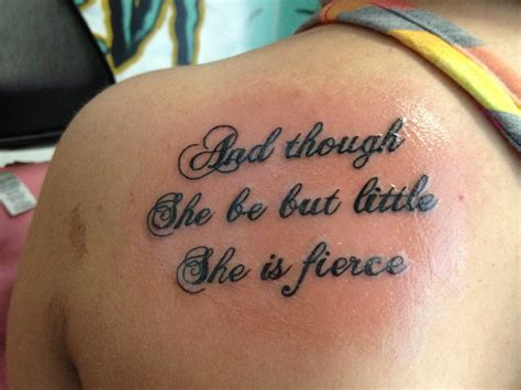 shakespeare tattoo shakespeare quote
