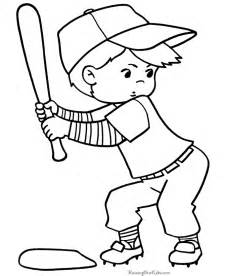 halloween coloring pages baseball boy 017