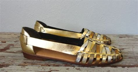 Aigner A 3132 vintage bruno valenti flats 1990s shoes by bluegrassbooty 32 00 fashion